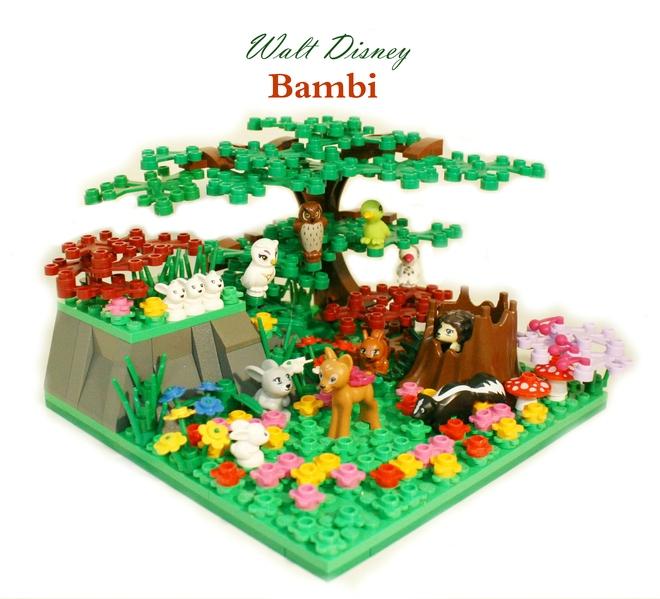 LEGO Ideas Bambi