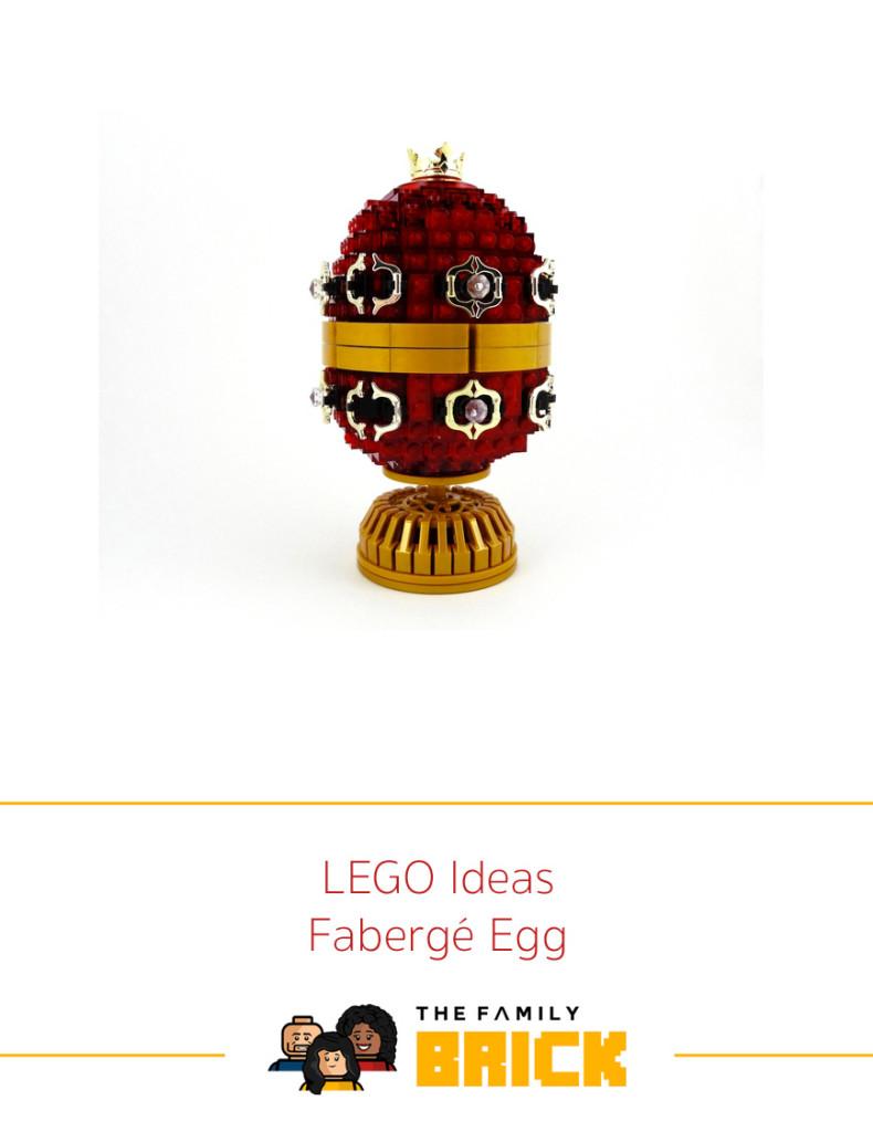 LEGO Ideas Fabergé Egg