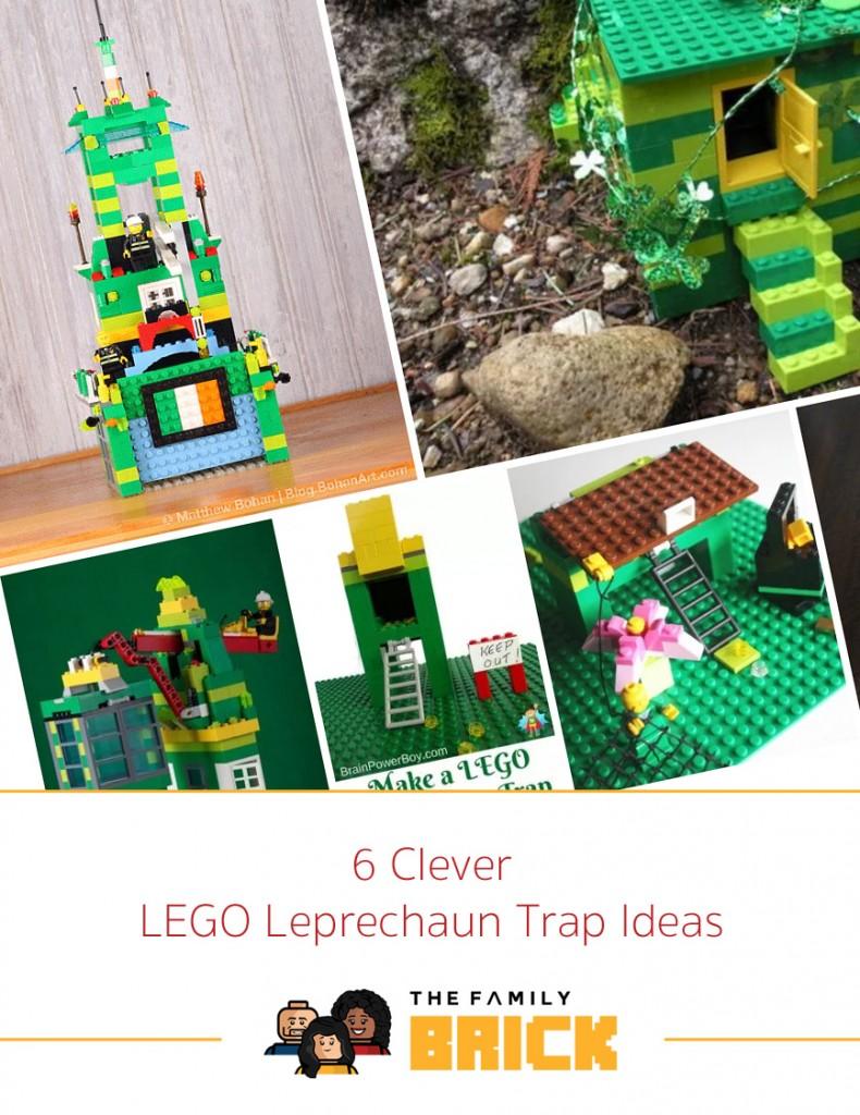 6 Clever LEGO Leprechaun Trap Ideas