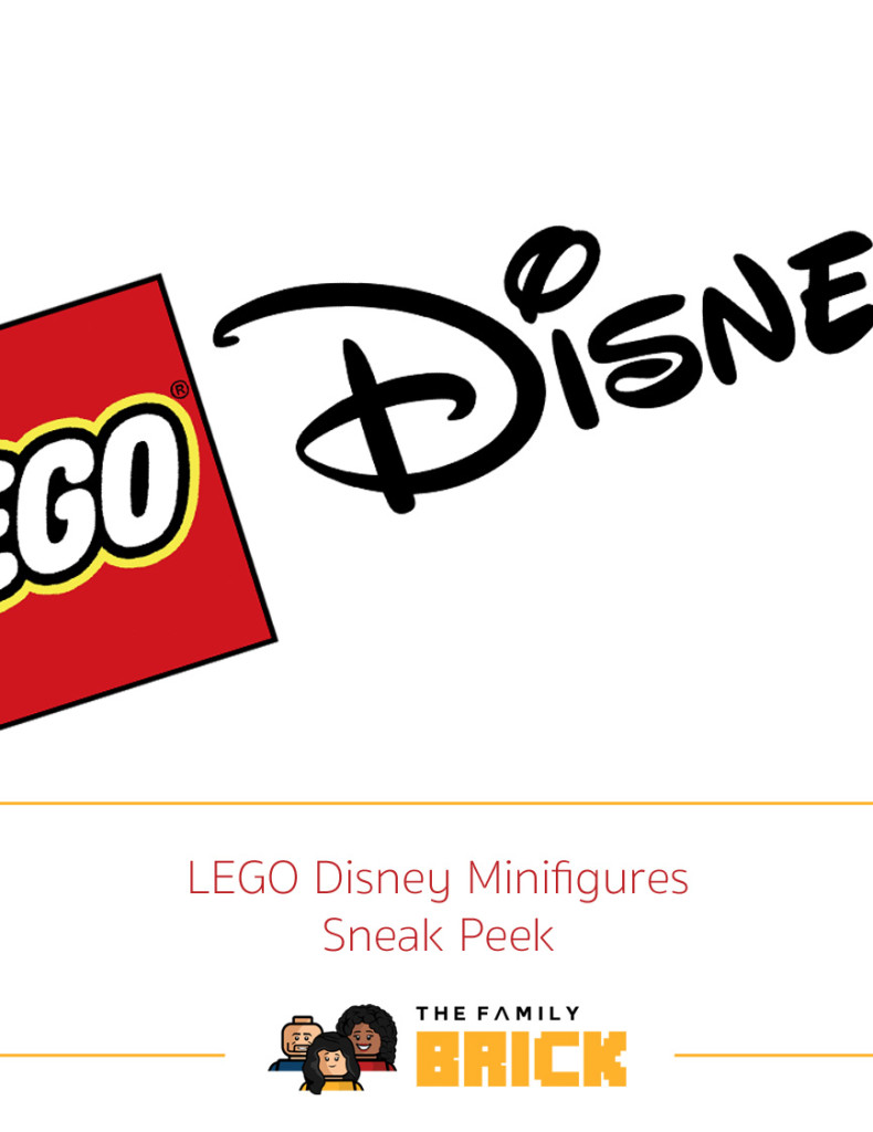 LEGO Disney Minifigures Sneak Peek Cover