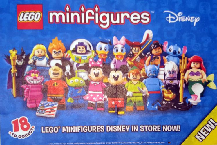 LEGO Disney Minifigures Sneak Peek
