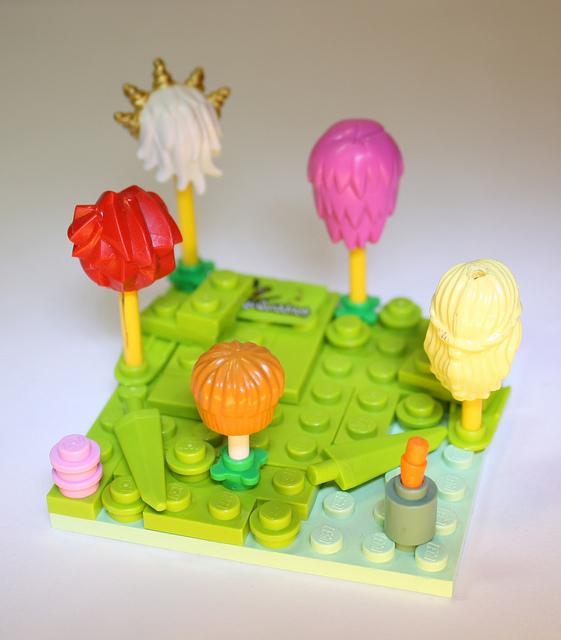 LEGO Lorax Truffula Trees