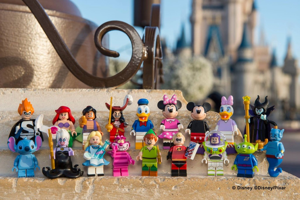 Official Images of the LEGO Disney Minifigures - 1