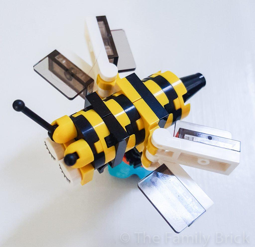 April 2016 LEGO Club Meeting Bumble Bee Build