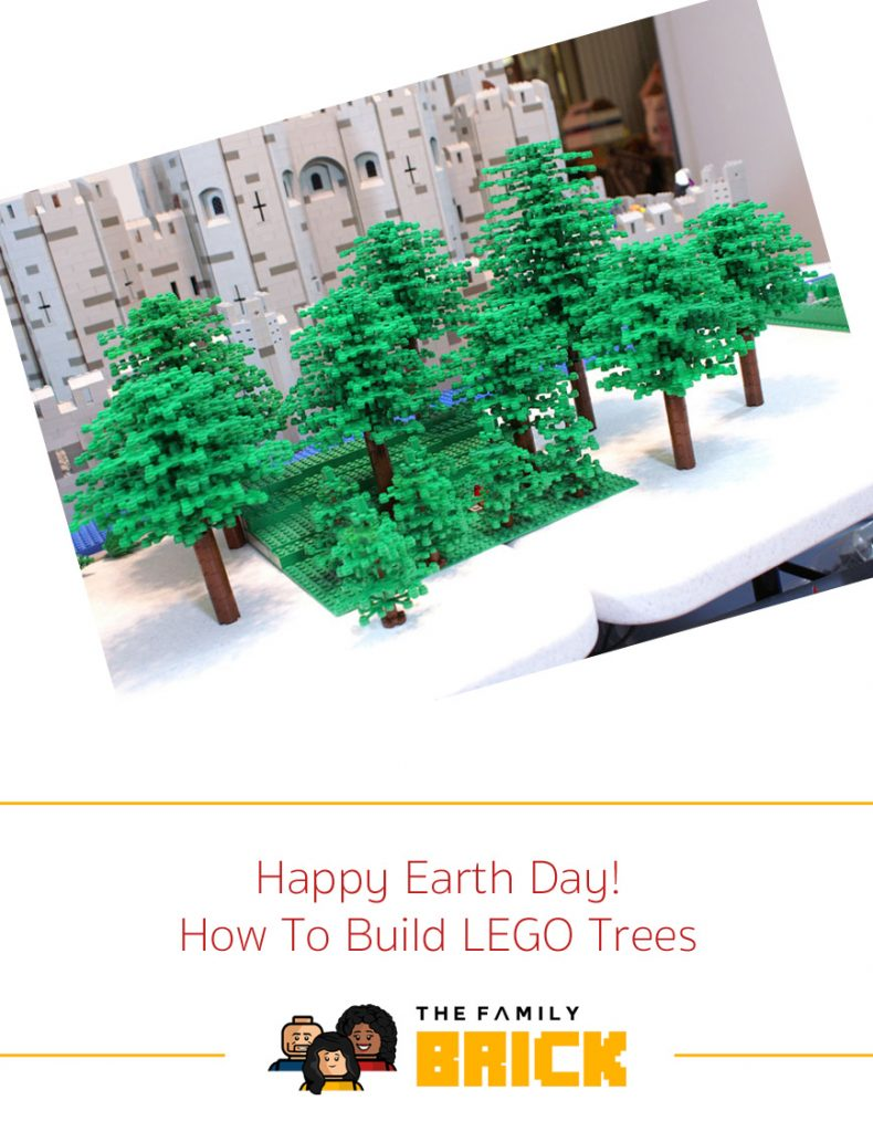Happy Earth Day How To Build LEGO Trees
