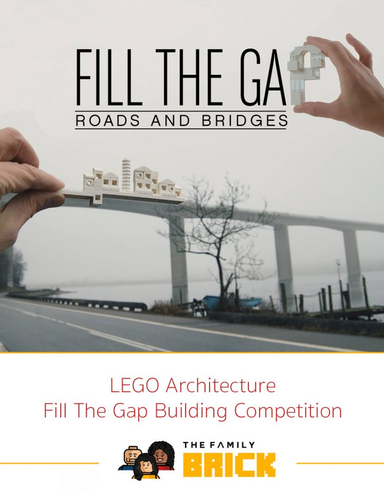LEGO Architecture Fill The Gap Building Competition - FillTheGap