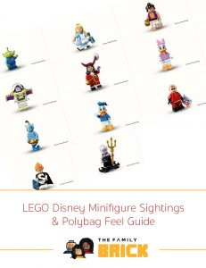 LEGO Disney Minifigure Sightings and Polybag Feel Guide