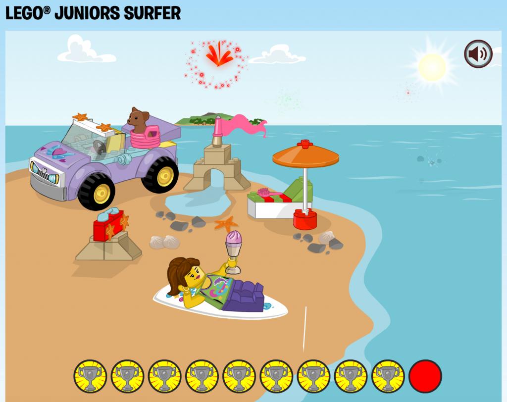 LEGO Juniors Surfer