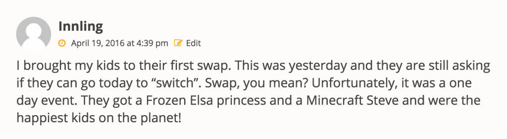 Comment on LEGO Monthly Minifigure Swap