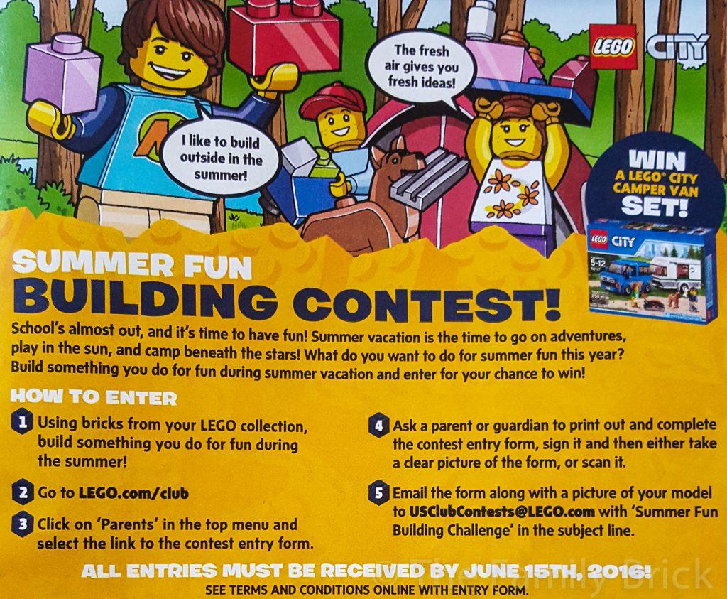 LEGO Juniors Summer Fun Building Contest-175755