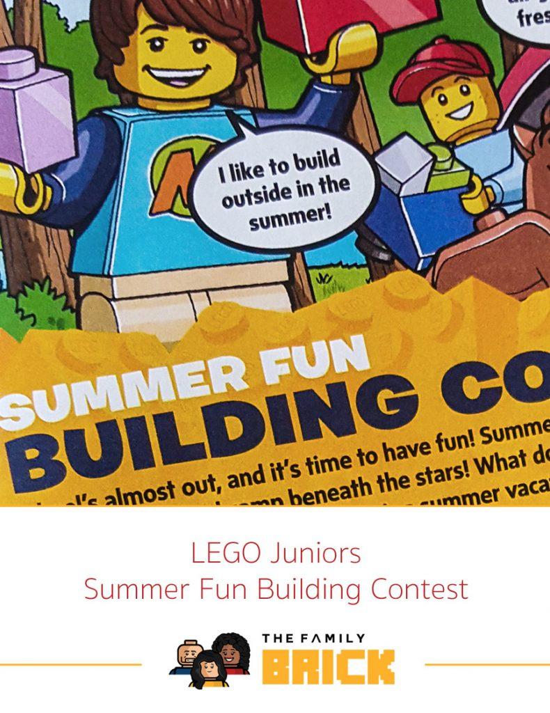 LEGO Juniors Summer Fun Building Contest