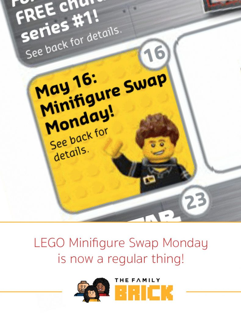 LEGO Minifigure Swap Monday is now a regular thing!