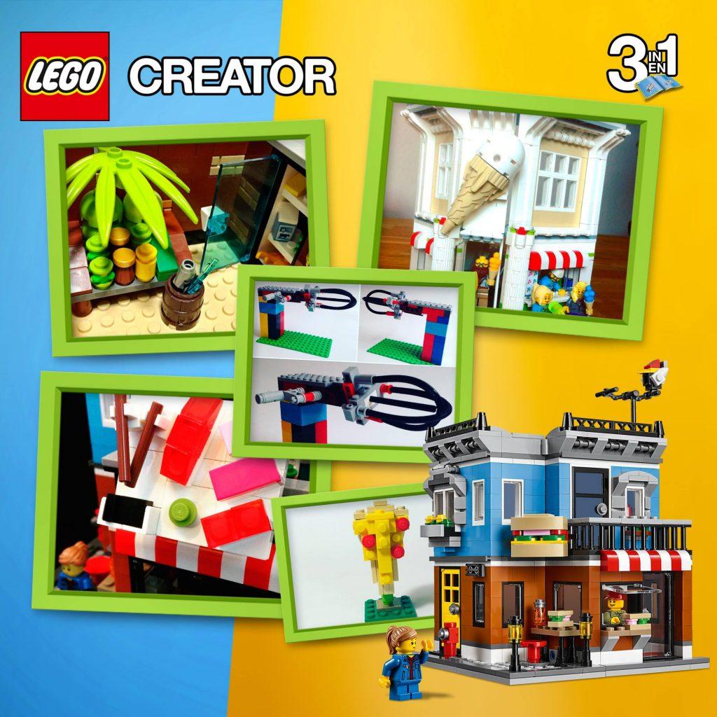 LEGO BeACreator Building Competition