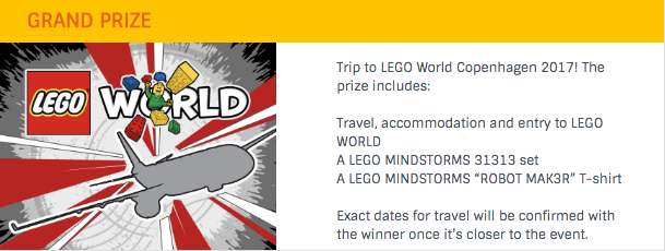 Grand Prize - LEGO Rebrick Make Something Contest