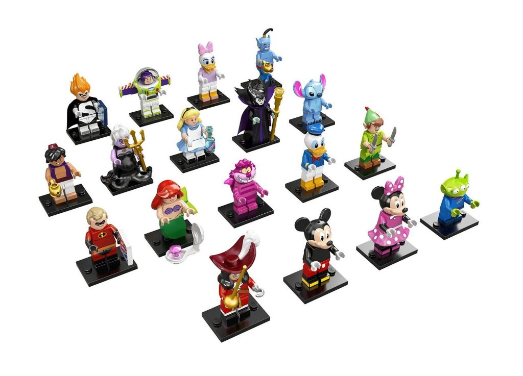 LEGO Disney Minifigures - LEGO Gifts for Adults