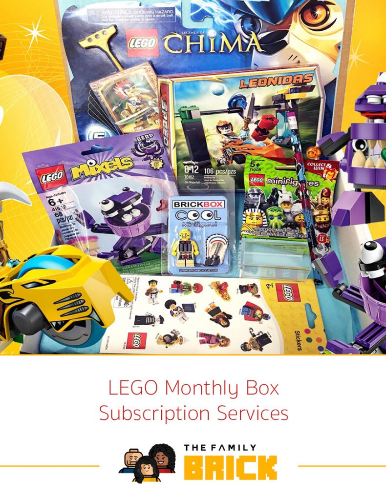 LEGO Monthly Box Subscription Services