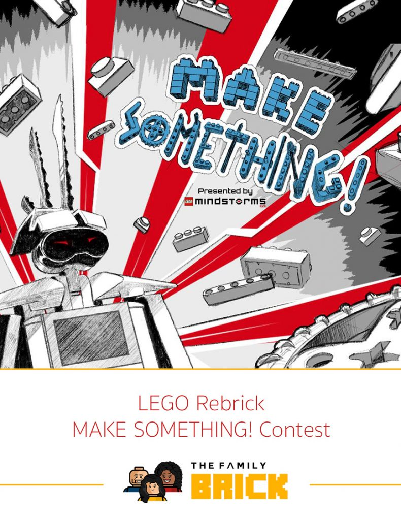LEGO Rebrick MAKE SOMETHING! Contest