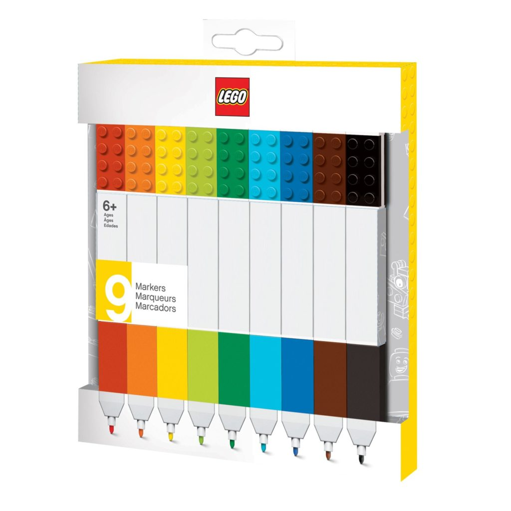 LEGO Stationary 9-Pack Marker Set