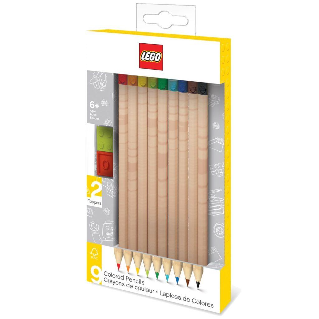 LEGO Stationary Colored Pencils