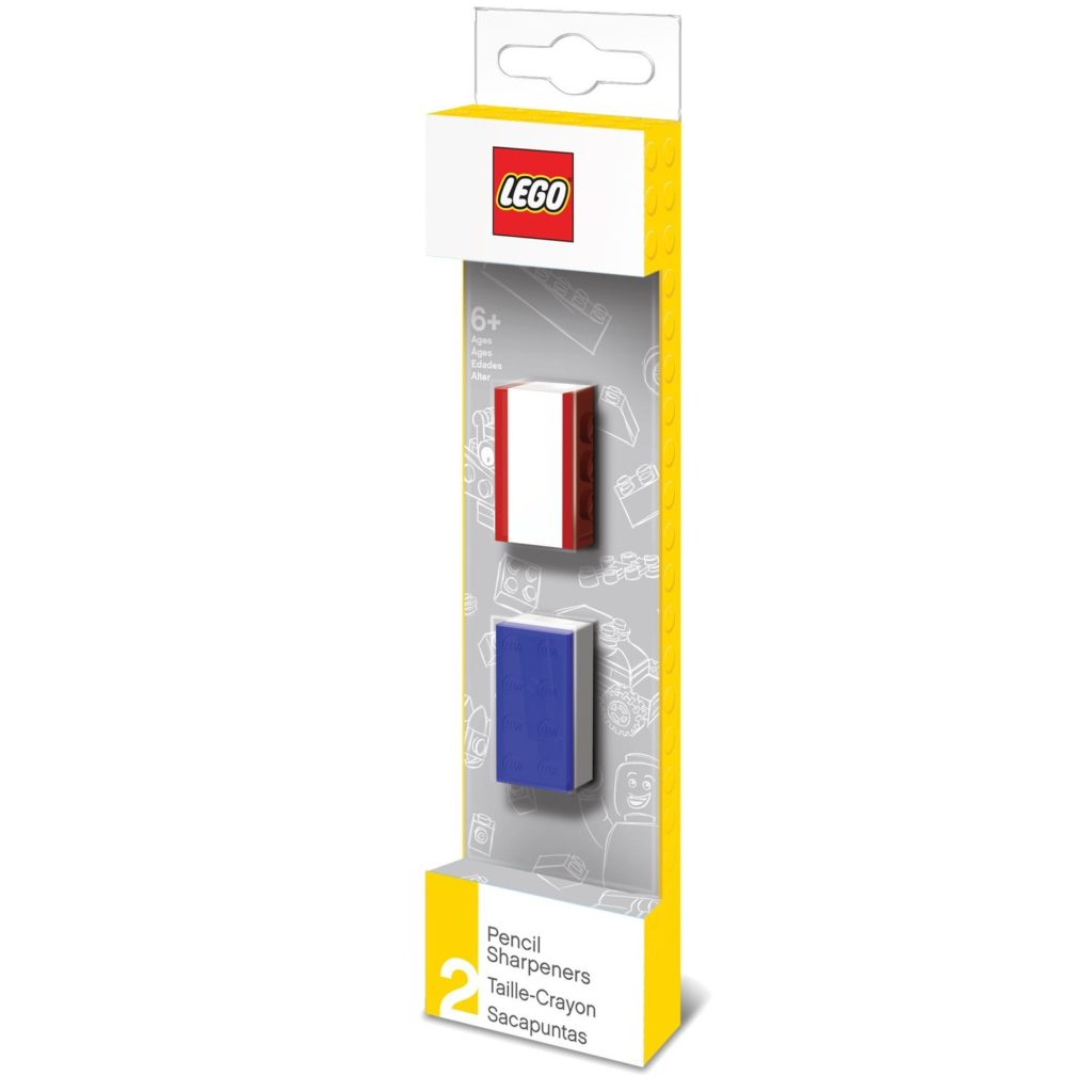 LEGO Stationary Pencil Sharpeners