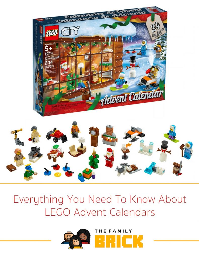 Everything You Need To Know About LEGO Advent Calendars