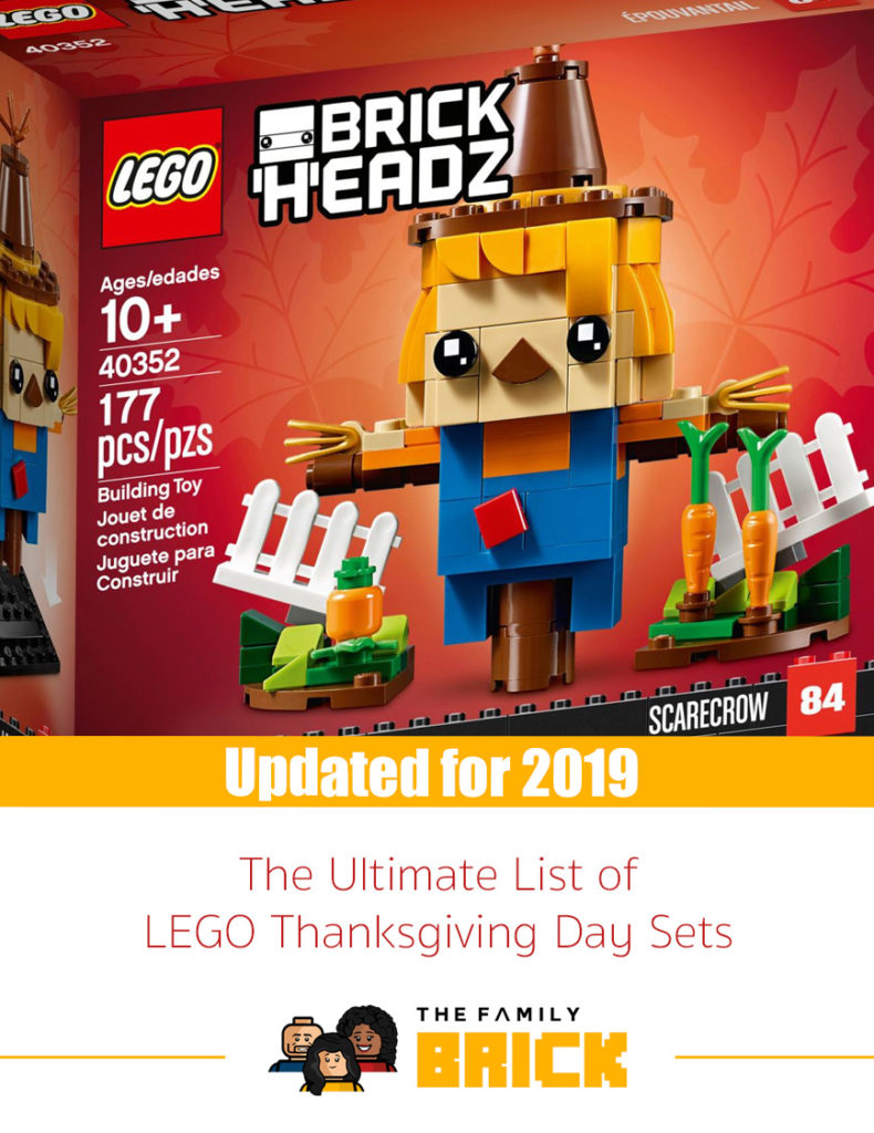 The Ultimate List of LEGO Thanksgiving Day Sets