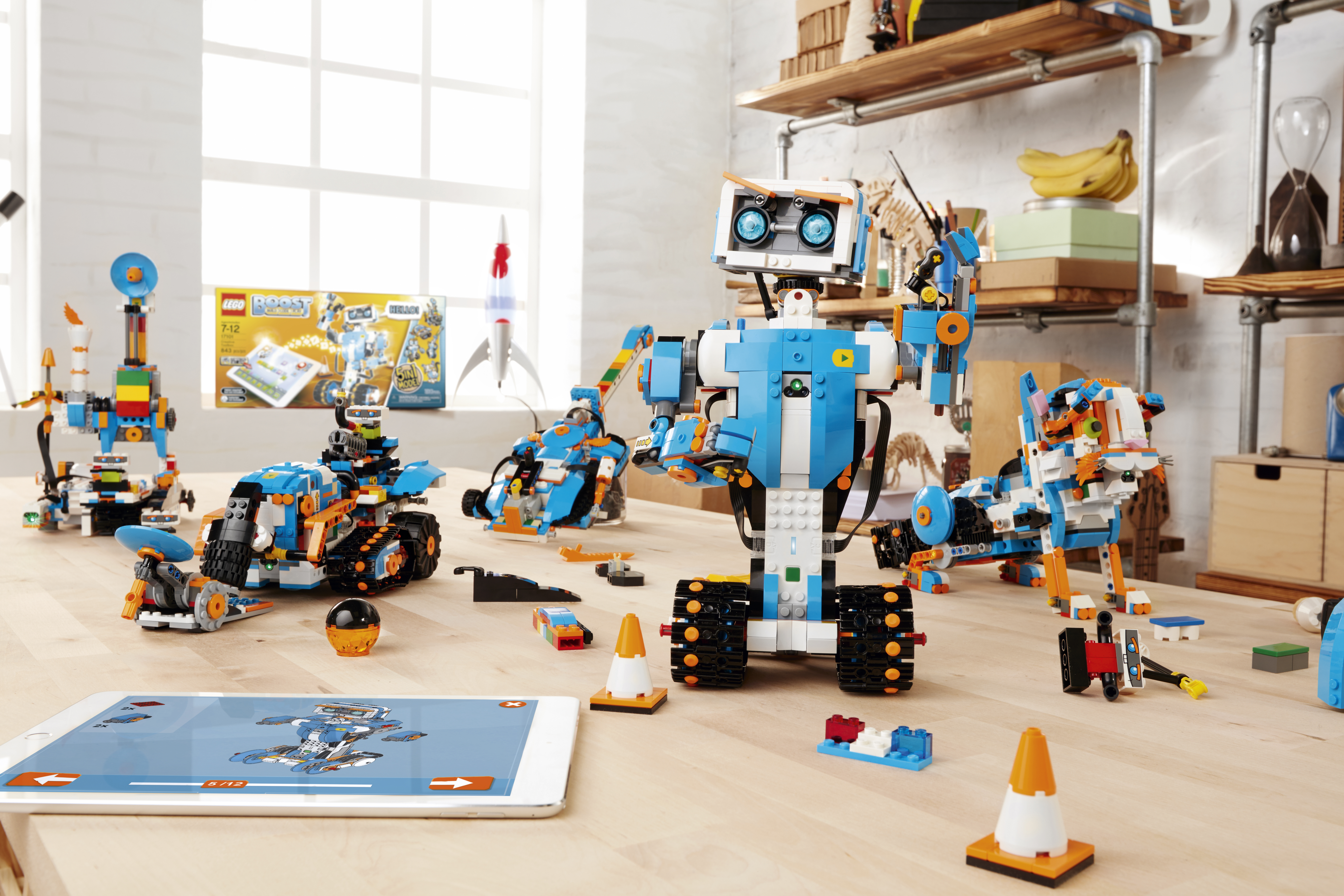 LEGO Boost Models Group Photo