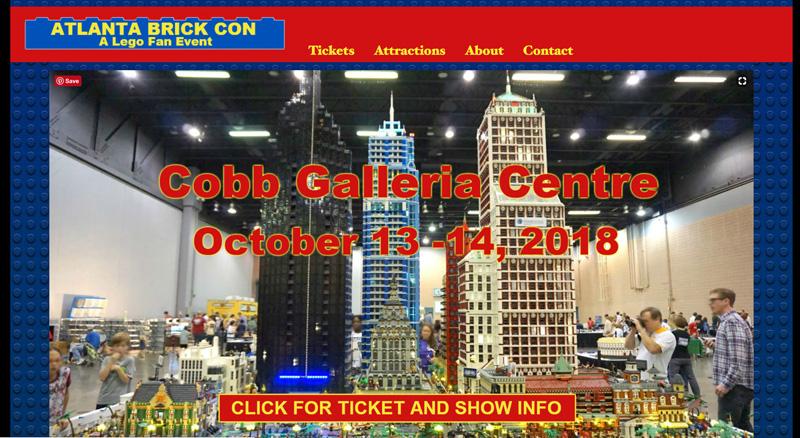 Atlanta Brick Con - A LEGO Fan Event